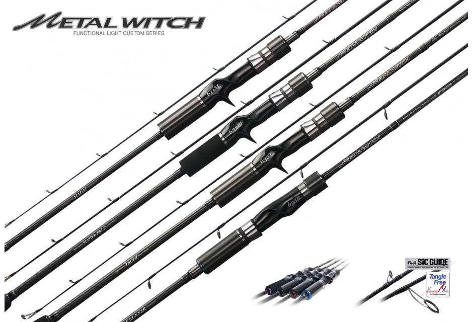 Caña Metal Witch Quest 633SF de Slow Jigging de Palms