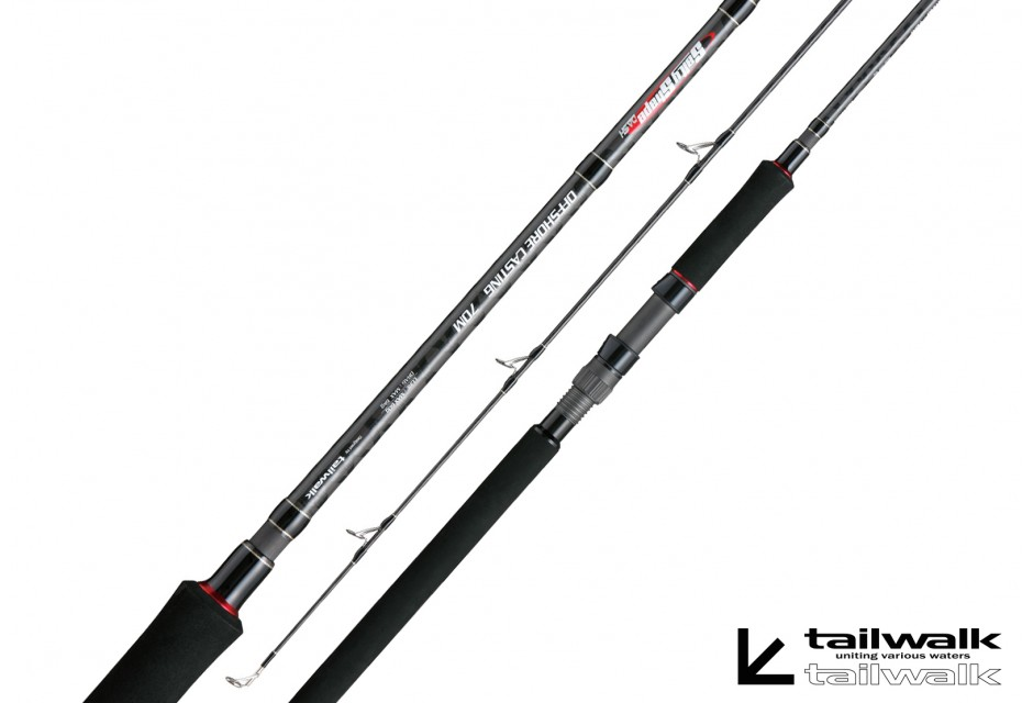 Tailwalk Salty Shape Dash Off Shore Casting 70M / Acción 60g / Longitud 2,13m